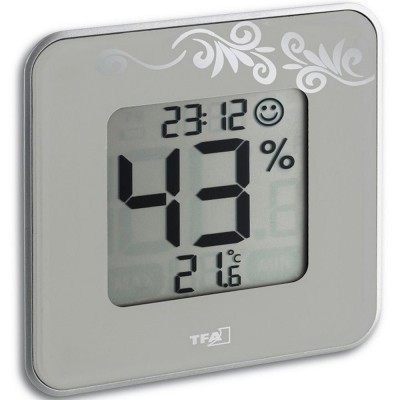 Digital Thermo-Hygrometer with Comfort Level Indicator