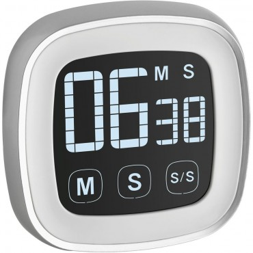 Digital Countdown Timer/Stopwatch with Touchscreen Display