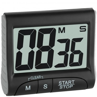 Digital Countdown Timer/Stopwatch with Large Display