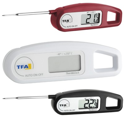 Superfast Waterproof Probe Thermometer Available In 3 Colours