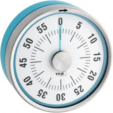 Turquoise 60 Minute Kitchen Timer