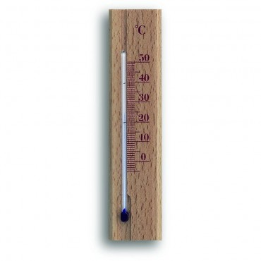 Beech Indoor Thermometer 15.2cm