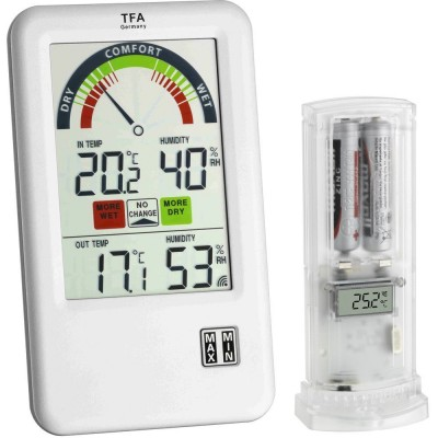 Bel-Air Wireless Min/Max Thermo-Hygrometer