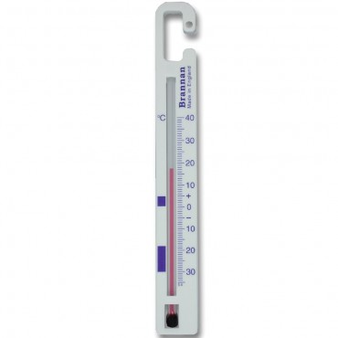 Vertical Fridge-Freezer Thermometer