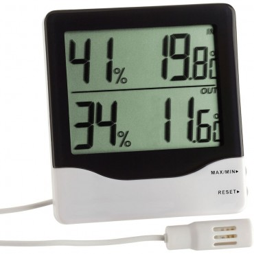 Digital Indoor/Outdoor Thermo-Hygrometer Cabled