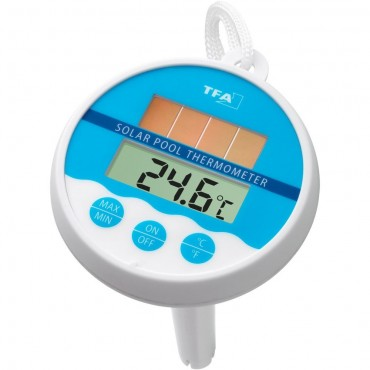 Digital Solar Pool, Pond or Water Thermometer