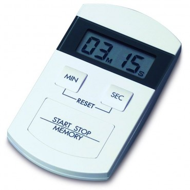 Digital Countdown Timer/Stopwatch with Memory Function