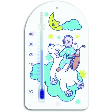 Moon And Stars Childs Room Thermometer 13.5cm
