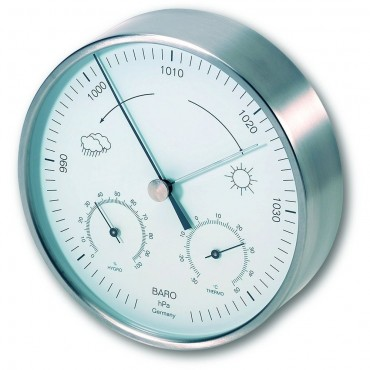 Outdoor Metal Barometer 16cm