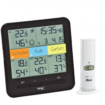 Klima Home Wireless Min/Max Thermo-Hygrometer