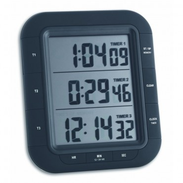 Triple XL Magnetic Digital Timer with Memory Function