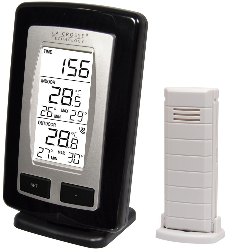 Wireless Indoor Amp Outdoor Min Max Thermometer
