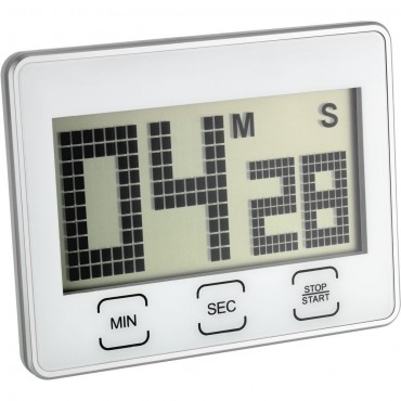 Digital Countdown Timer/Stopwatch with Touch Screen Display