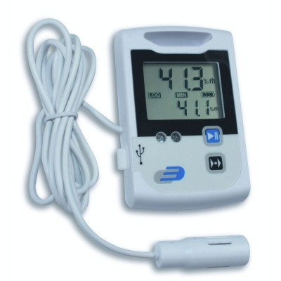 Log110 Temperature & Humidity Data Logger With 2m Cable Probe