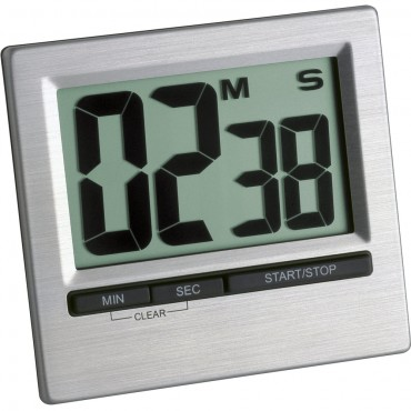 Digital Countdown Timer with Large Display
