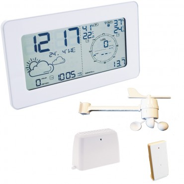 Ventus Full Wireless Weather Station With Large Display