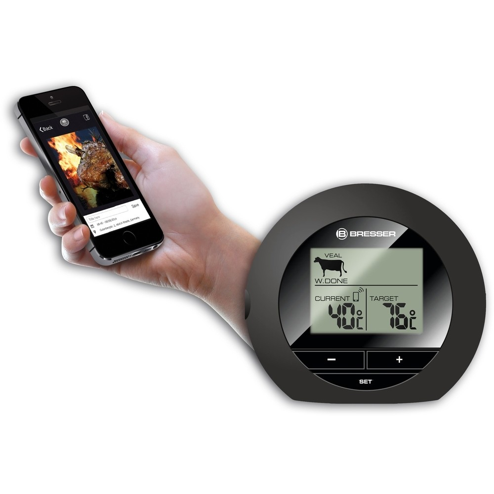 bresser bluetooth bbq thermometer. Black Bedroom Furniture Sets. Home Design Ideas