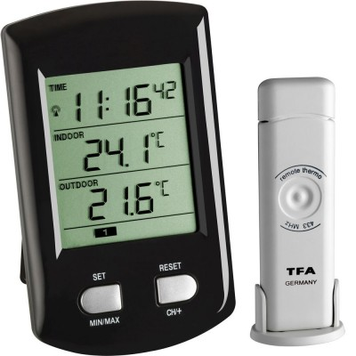 Ratio Wireless Indoor & Outdoor Min/Max Thermometer
