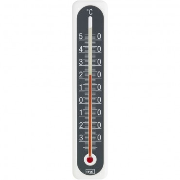 Indoor/Outdoor Monochrome Thermometer 20cm