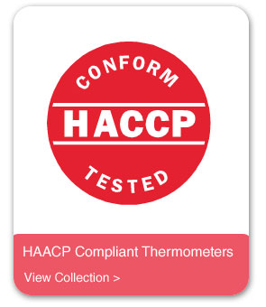 HACCP Compliant Thermometers