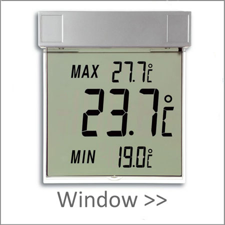 Window Thermometers