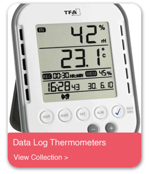 Data Log Thermometers